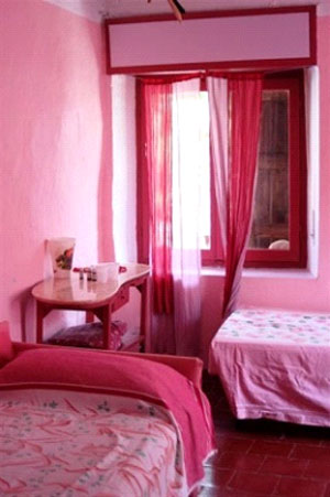 una camera del Bed&breakfast la Casotta
